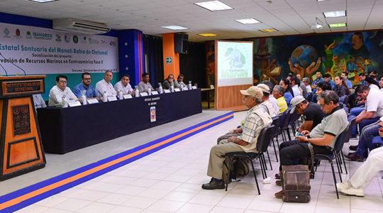 Presentan avances del proyecto Conservación de Recursos Marinos en Centroamérica, Fase II